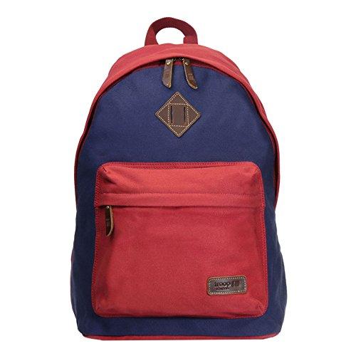trp0384troop-london-heritage-lienzo-mochila-casual-daypack-mujer-nia-nio-hombre-unisex-rojo-azul-mar