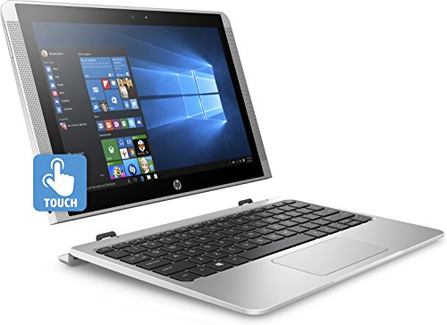 HP x2 10-p050na 10 1  Touchscreen 2 in 1 Windows 10 Laptop   Intel Atom x5 processor  32GB eMMC  2GB RAM  Silver