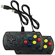 Zowam Mini Arcade Game Consoles Portable Video Game Home Travel Tiny Arcade Machines with 2 Controllers 4.3inched HD Screen 500 Classic Games on TV for Kids to Adult