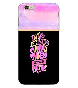 PrintDhaba Quote D-3322 Back Case Cover for APPLE IPHONE 6S PLUS (Multi-Coloured)