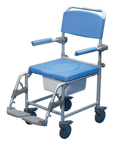 Patterson Medical Deluxe Rädern Dusche Kommode Stuhl (Deluxe Kommode Dusche Stuhl,)