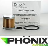 Phoenix Autogas Filter OMB Abschaltventil Reparatur-Set Flüssigphase Gasfilter für LPG KME Stag etc.