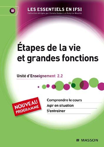 Etapes de la vie et grandes fonctions - UE2.2 - To...