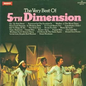 THE VERY BEST OF 5TH DIMENSION[WW5114]1982 VINYL LP