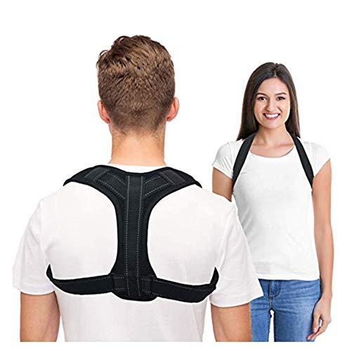 Posture Corrector Für Damen Und Herren,Einstellbar Rückentrainer, Haltungstrainer Ideal Zur Therapie Für Haltungsbedingte Nacken, Rücken Und Schulterschmerzen