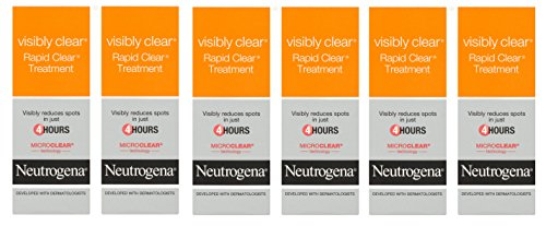 Kohle-teer Shampoo (6 x Neutrogena Visibly Clear Rapid Clear Spot Treatment 15 ml)