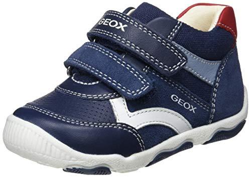 Geox Baby Jungen B New BALU' Boy C Sneaker, Blau (Navy C4002), 21 EU - Schuhe Jungen Babys,