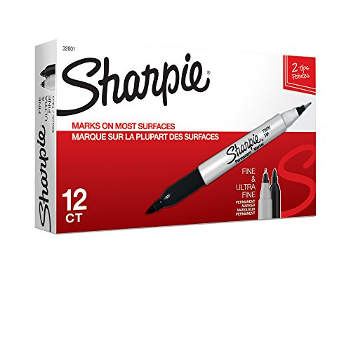sharpie-32001-twin-tip-fine-point-and-ultra-fine-point-permanent-marker-black-12-pack-size-12-pack-c