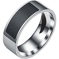 Mengonee Smart Accessories Waterproof Intelligent Rings NFC Multifunctional Magic Wearable Finger Digital LED Ring