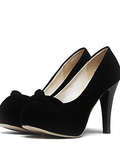 WSS 2016 Chaussures Femme-Mariage / Extérieure / Bureau & Travail / Habillé-Noir / Marron / Rouge-Talon Cône-Confort / Bout Arrondi-Talons- brown-us5.5 / eu36 / uk3.5 / cn35