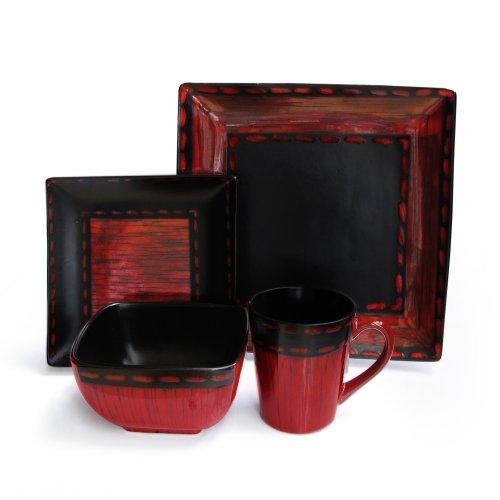 American Atelier Livingston Geschirr-Set, 16-teilig 10.75