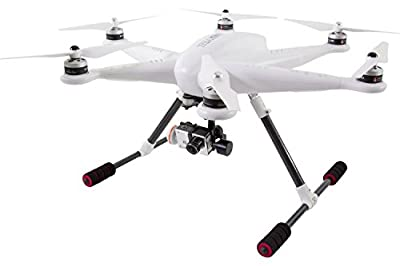 XciteRC 16002000 – iLook + FPV Drone Hexacopter H500 RTF full HD Camera, GPS, 3D Gimbal and Devo F12E Transmitter