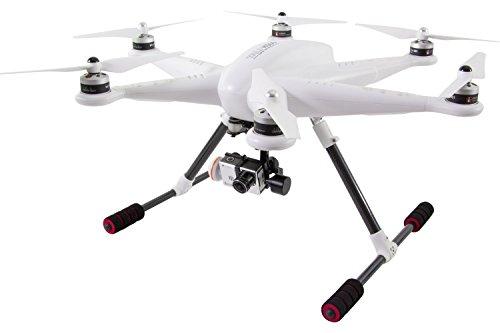 XciteRC 16002000 – Hexacopter H500 RTF – FPV-Drohne mit iLook+ Full HD Kamera, GPS, 3D-Gimbal und Devo F12E Fernsteuerung