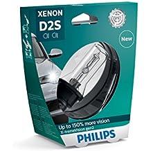 Philips 85122XV2S1- Faros delanteros de xenón con bombilla X-tremeVision gen2 D2S, 1 unidad