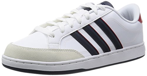 Adidas Courtset, Zapatillas Bajas para Hombre, Ftwwht/Conavy/Powred, 43 1/3 EU