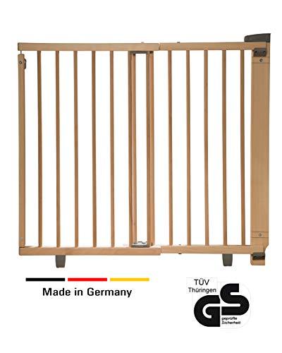 hergestellt in D/änemark und vom T/ÜV GS gepr/üft BabyDan Premier T/ürschutzgitter // Treppenschutzgitter zum Klemmen 105.5-112.8 cm Farbe: Wei/ß