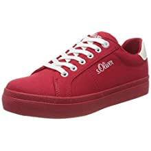 s.Oliver Women's 5-5-23621-24 Sneaker, Red Red 500, 4.5 UK