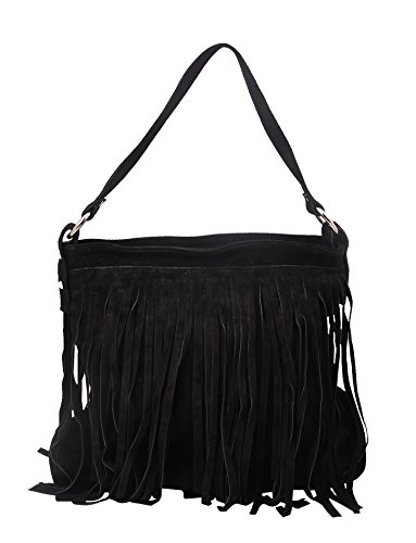 slingbag-sophie-schultertasche-umhangetasche-handtasche-aus-echtem-wildleder-mit-fransen-in-schwarz