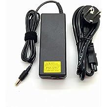 Adaptador Cargador Nuevo y Compatible con portátiles Sony Vaio VPC PCG SVT Series punta 6.5*4.4 pin central de 19,5v 4,7a o inferior del listado