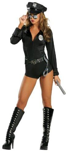 Sexy Sicherheitsbeamtin Polizistin - Kostüm - - Verführerische Polizistin Kostüm