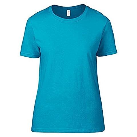 Anvil Damen Modern T-Shirt Gr. Medium,