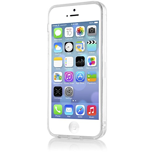 247a1b8e387 ... iPhone 5 5S SE Hülle Handyhülle von NICA, Ultra-Slim Silikon Case Cover  Schutzhülle