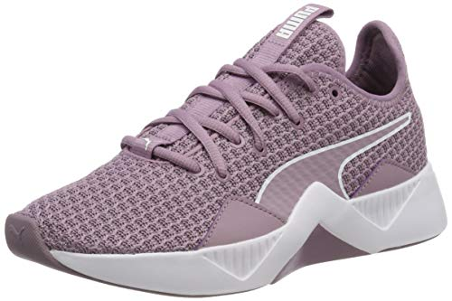 Puma Damen Incite Fs Wns Fitnessschuhe, Violett (Elderberry-Puma White), 37 EU