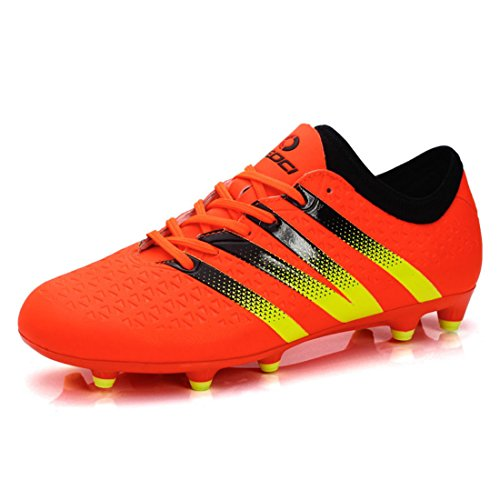 Men's Soccer Outdoor Football Trainers Shoes Orange