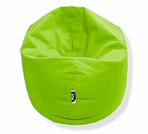 Sitzsack 100cm Durchmesser 2 in 1 | Kiwi - 300 Liter in 25 Farben und 3 versch. Größen