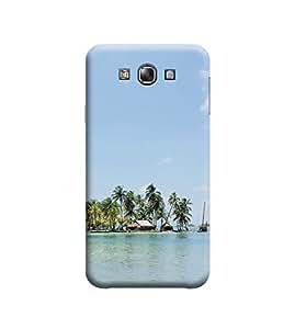 Ebby Premium Printed 3D Designer Back Case Cover For Samsung E7 (Premium Designer Cae)