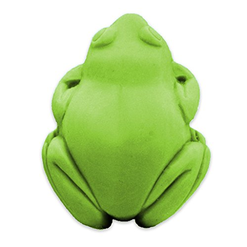 Frog Soap Mold (MW 169) -  Milky Way. Melt & Pour, Cold Process w/ Exclusive Copyrighted Full Color Cybrtrayd Soap Molding Instructions in a Sealed Poly Bag