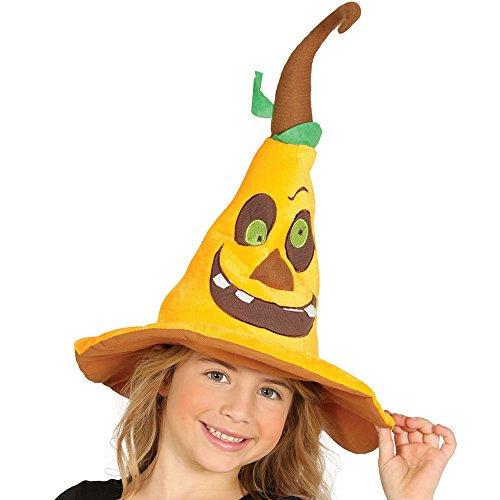 lustige Kürbis Mütze für Erwachsene Kürbismütze Halloween Hut Party Horror orange (Für Erwachsene Kostüme Süße Kürbis)