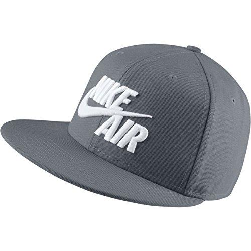 Nike 805063, berretto unisex-adulto, grigio/grigio/bianco, taglia unica