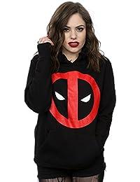 Marvel mujer Deadpool Clean Logo Capucha
