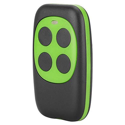 Garagentor Fernbedienung,Universal Wireless Remote Control Key 4 Buttons Fernbedienung Electric Garage Door Security Alarm System (Green) Universal-garage Door Remote