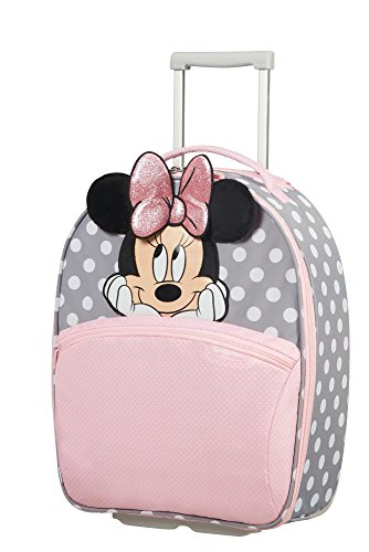 SAMSONITE Disney Ultimate 2.0 - Upright 49/17 2 KG Valigia per bambini, 49 cm, 24 liters, Multicolore (Minnie Glitter)