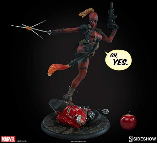 Sideshow Collectibles SS300546 Lady Deadpool Premium Format-Figur, Mehrfarbig