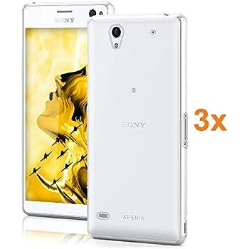 TPU Transparent en Silicone Coque pour Sony Xperia L3 /Électronique Roi/® Ultra Fine 0.33mm Lot de 3