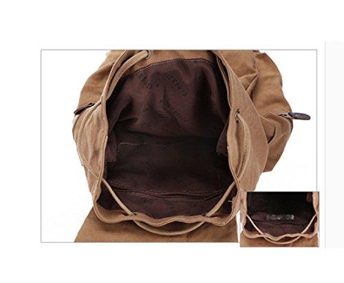 LAIDAYE Leinwand Schultertaschen Reisetaschen Bigbags Outdoor-Taschen Rucksäcke Schultaschen Schultaschen 5