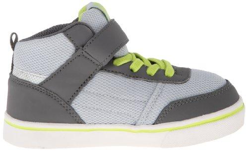 Etnies Td Rap Cm Strap, baskets mixte enfant Gris - Dark Grey/Grey