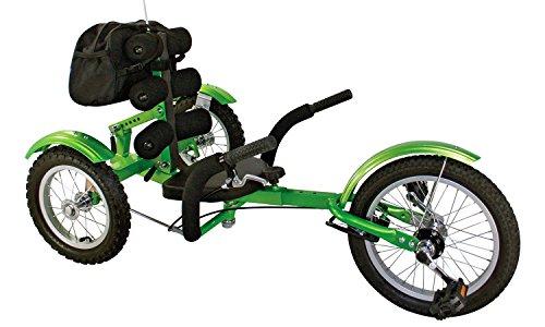 Liegerad CartRider grün für Kinder / Go-Kart / Trike günstig / 4 bis 8 Jahre / Max. 75 kg