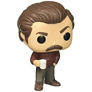 Funko Pop Ron Swanson (Parks & Recreation 499) Funko Pop Parks & Recreation