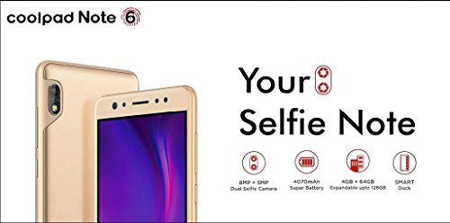 COOLPAD Note 6(Royal Gold) 4GB 64GB
