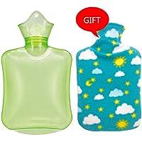 Baoffs Luxus-Wärmflasche Klassische PVC-heiße kalte Wasser-Flaschen-Tasche mit Abdeckung Winter-hintere Ansatz-Handwärmer-Tasche... preisvergleich bei billige-tabletten.eu