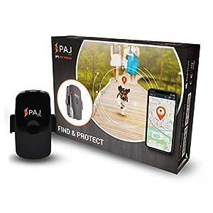 41eoRsZOuoL. SS300 PAJ GPS Pet Finder Tracker Mini per cani/gatti. Impermeabile, 2 g. ca. durata della batt. (3 g. in mod. standby) gps…