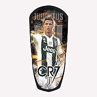 DROMA SPORT PARASTINCHI Personalizzati Calcio - Made in Italy - CR7 - Gomma ANALLERGICA, Leggero, Materiale PLASTICO Flessibile (Small)