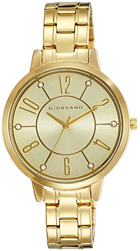 Giordano Analog Gold Dial Women's Watch - A2018-22 image