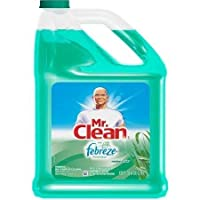 Mr. Clean Meadows & Rain Multi-surface Cleaner with Febreze Freshness, 128 Fl Oz, Helps Eliminate Odors with Lavender and Vanilla Scent by Mr. Clean