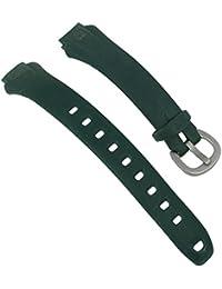 Timex Ironman Ersatzband Uhrenarmband PU Band Wasserfest Graublau 14mm T5K411