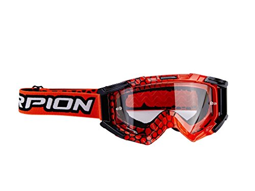 Scorpion E16 MX Crossbrille, Orange/Schwarz